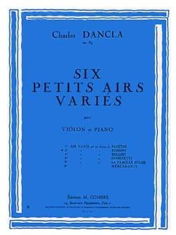Air Varié op. 89 n° 2 sur un thème de Rossini DANCLA laflutedepan