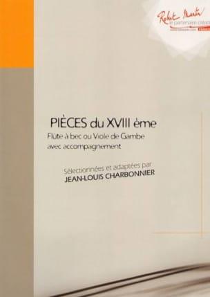 Pièces du XVIIIème Volume 2 Jean-Louis Charbonnier laflutedepan
