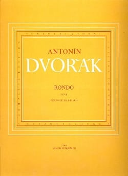 DVORAK - Rondo op. 94 - Partition - di-arezzo.com