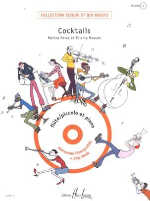 Cocktails Play Back Perez / Masson Partition laflutedepan