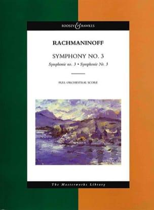 Symphonie N°3 RACHMANINOV Partition Grand format - laflutedepan