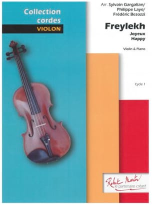 Freylekh - Violon et Piano Traditionnel Partition laflutedepan