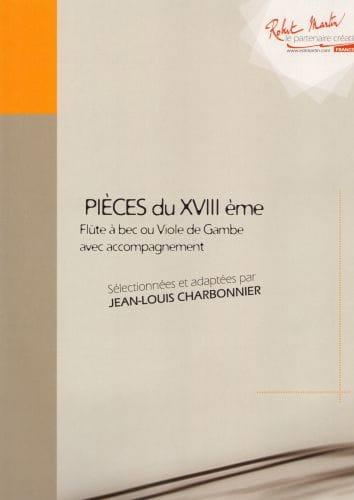 Pièces du XVIIIème Volume 2 - laflutedepan.com