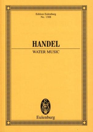Wassermusik - Water Music HAENDEL Partition laflutedepan