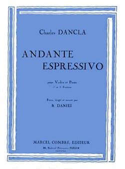 Andante Espressivo - Violon DANCLA Partition Violon - laflutedepan