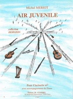 Air Juvénile Michel Mériot Partition Clarinette - laflutedepan