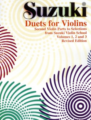 Duets for violins SUZUKI Partition Violon - laflutedepan
