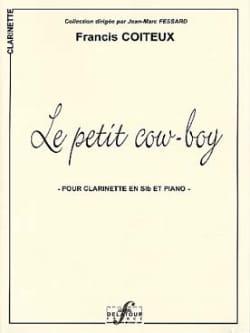 Le Petit Cow Boy Francis Coiteux Partition Clarinette - laflutedepan
