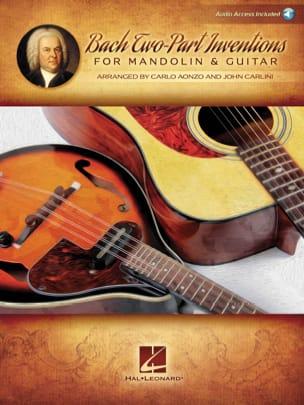 15 Inventions à 2 voix - Mandoline et Guitare BACH laflutedepan