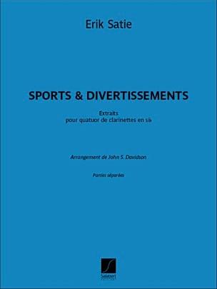 Sports & Divertissements SATIE Partition Clarinette - laflutedepan