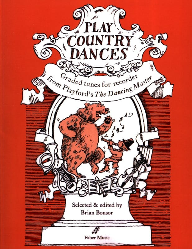 Play country dances - Recorder - Partition - laflutedepan.com