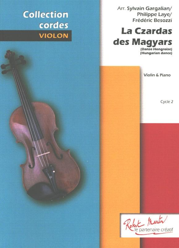 La Czardas des Magyars - Violon et Piano - laflutedepan.com