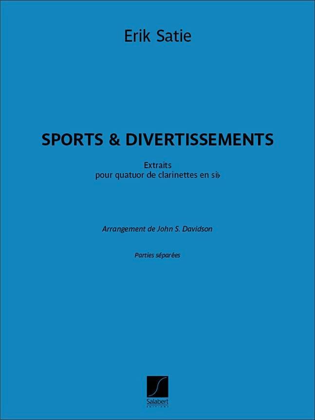 Sports & Divertissements - SATIE - Partition - laflutedepan.com