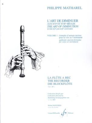 L' Art de Diminuer aux 16ème et 17éme Siècles Volume 1 laflutedepan