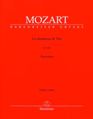 La Clemenza di Tito - Ouvertüre KV 621- Partitur MOZART laflutedepan