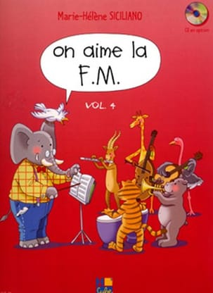 On Aime la FM - Volume 4 SICILIANO Partition Solfèges - laflutedepan