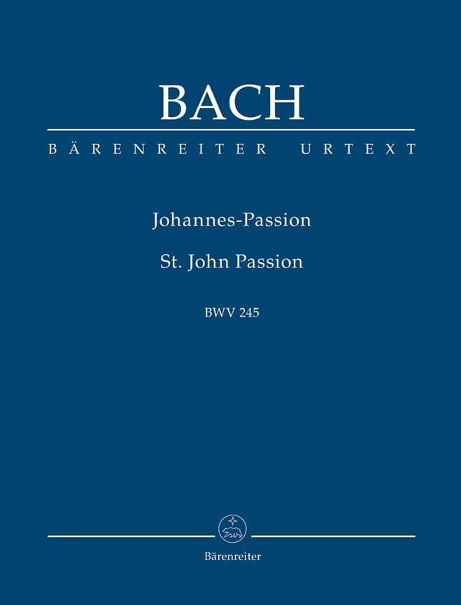 Passion selon Saint-Jean - BACH - Partition - laflutedepan.com