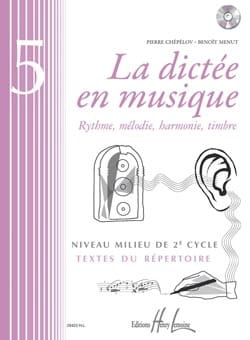Pierre CHEPELOV et Benoit MENUT - The Dictation in Music Volume 5 - Partition - di-arezzo.com