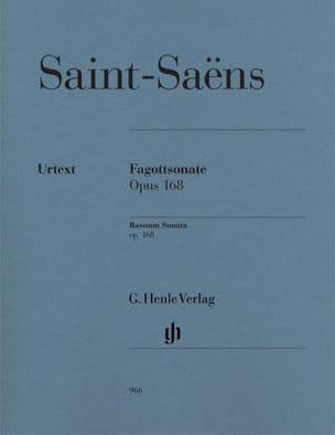 Sonate pour Basson op. 168 SAINT-SAËNS Partition Basson - laflutedepan