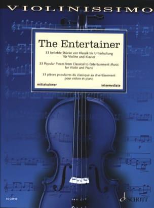 The Entertainer - Violon et Piano Partition Violon - laflutedepan