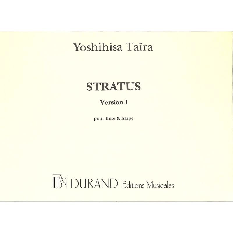 Stratus - Flûte et Harpe - Yoshihisa Taira - laflutedepan.com