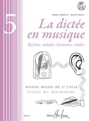 La Dictée en Musique Volume 5 - laflutedepan.com