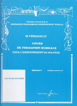 Cours de Formation Musicale - Débutant 2 Michel Vergnault laflutedepan