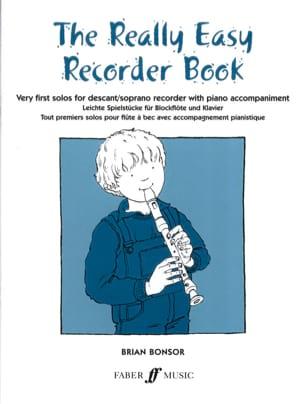 The really easy Recorder book Brian Bonsor Partition laflutedepan