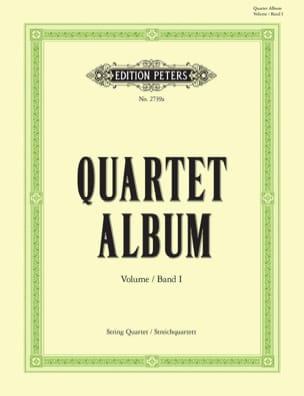 Quartett-Album, Bd. 1 Hans Sitt Partition Quatuors - laflutedepan