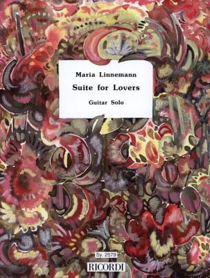 Suite For Lovers Maria Linnemann Partition Guitare - laflutedepan