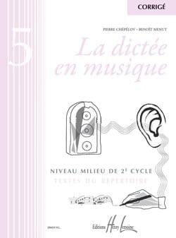 La Dictée en Musique - Corrigé - Volume 5 laflutedepan