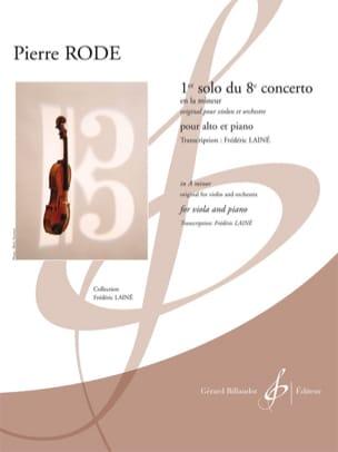 1er solo du 8ème concerto en la mineur Pierre Rode laflutedepan