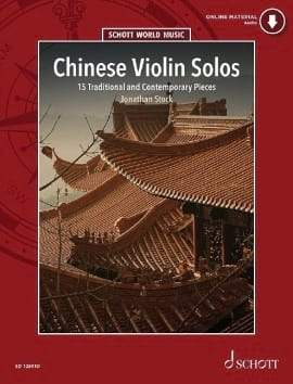 Chinese Violin Solos Traditionnel Partition Violon - laflutedepan