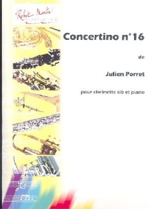 Concertino n° 16 - Julien Porret - Partition - laflutedepan.com