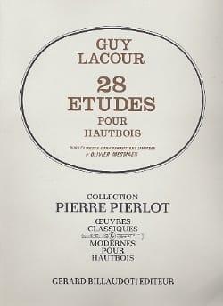 Guy Lacour - 28 Studies for oboe - Partition - di-arezzo.co.uk