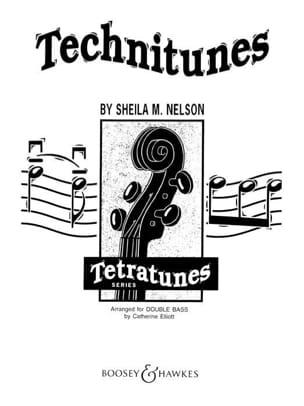 Technitunes - 2 String basses Sheila M. Nelson Partition laflutedepan