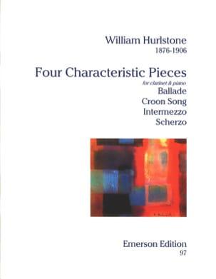 4 Characteristic pieces William Yeates Hurlstone laflutedepan