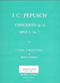 Concerto op. 8 N° 2 -2 Flutes 2 oboes violins et BC laflutedepan