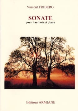 Sonate pour hautbois et piano Friberg Vincent Partition laflutedepan