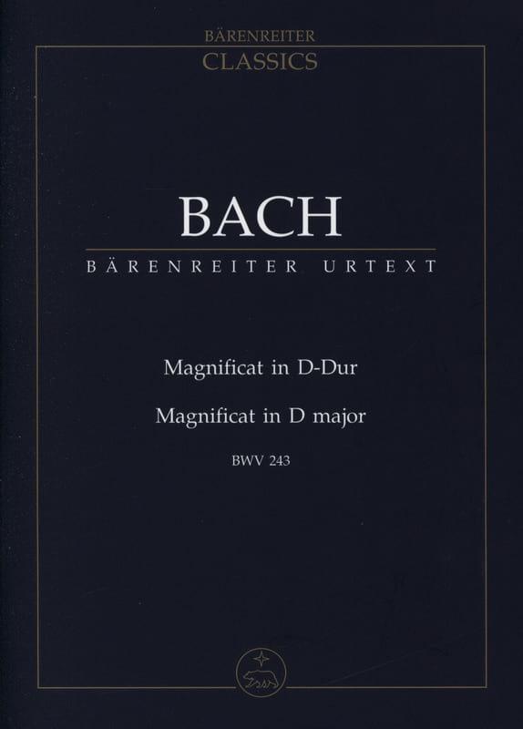Magnificat D-Dur - Conducteur - BACH - Partition - laflutedepan.com