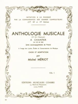 Anthologie Musicale Volume 1 - Michel Meriot - laflutedepan.com