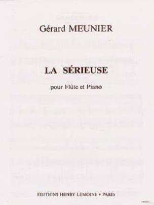 La sérieuse - Gérard Meunier - Partition - laflutedepan.com