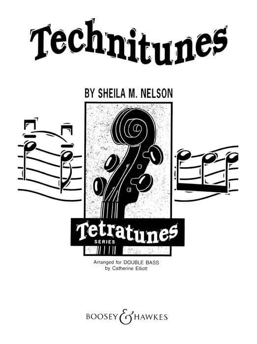 Technitunes - 2 String basses - Sheila M. Nelson - laflutedepan.com