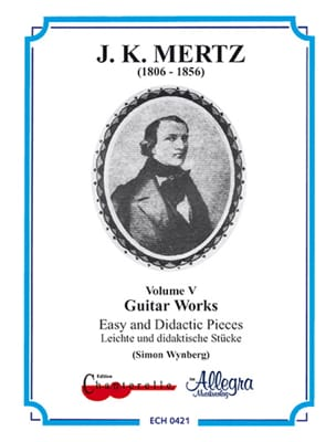 Guitar works - Volume 5 : Easy and didactic pieces - laflutedepan.com