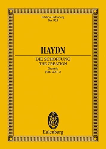 Die Schöpfung Hob. XXI:2 - HAYDN - Partition - laflutedepan.com