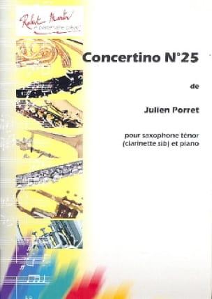 Concertino n° 25 - Julien Porret - Partition - laflutedepan.com