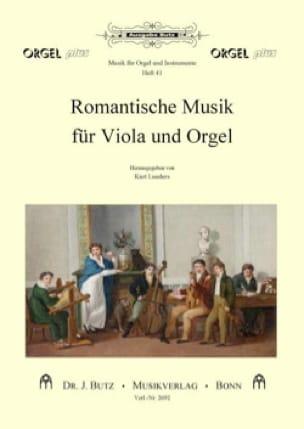 Musique Romantique - Alto et Orgue - Partition - laflutedepan.com