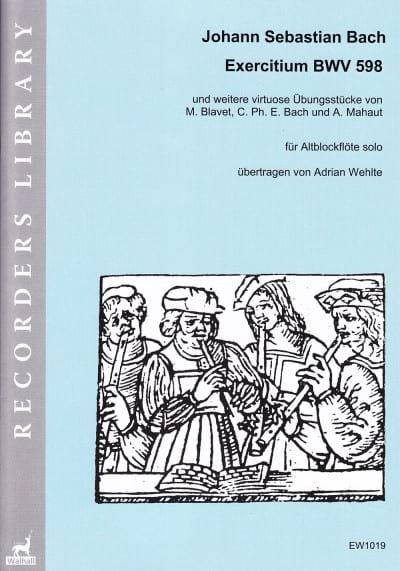 Exercitium BWV 598 - Johann Sebastian Bach - laflutedepan.com