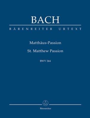 Passion selon Saint Mathieu - Urtext der Neuen Bach-Ausgabe laflutedepan