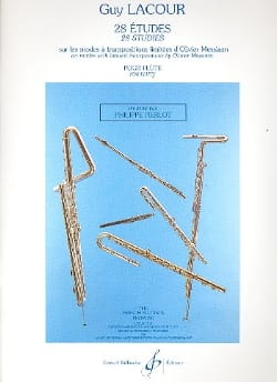 28 Etudes - Flûte Guy Lacour Partition laflutedepan